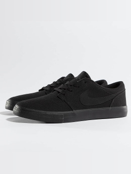 Nike SB Sneakers Solarsoft Portmore II czarny