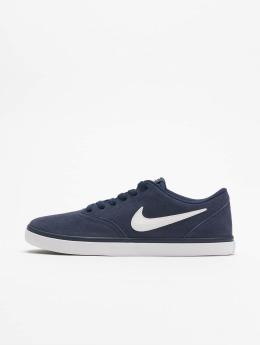 Nike SB Tøysko Check Solarsoft Skateboarding blå