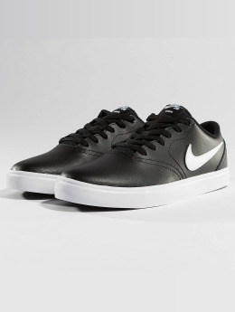 Nike SB Tennarit SB Check Solarsoft Skateboarding musta