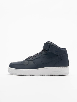 Nike Sneaker Air Force 1 Mid '07 blau