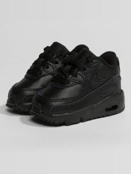 Nike Sneaker Air Max 90 Leather Toddler schwarz