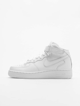 Nike Männer Sneaker Air Force 1 Mid '07 Basketball Shoes in weiß