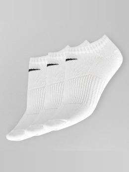 Nike Sokker 3 Pack No Show Lightweigh hvit