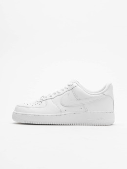 Nike Tøysko Air Force 1 '07 Basketball Shoes hvit