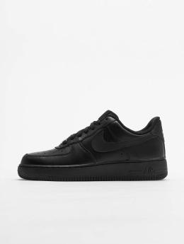 Nike Tøysko Air Force 1 '07 Basketball Shoes svart
