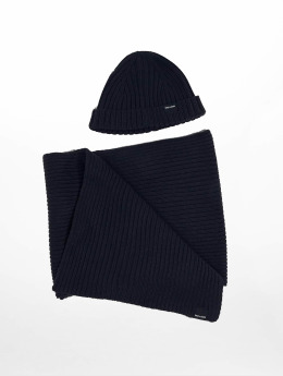 Only & Sons Luer onsChris Beanie & Scarf blå
