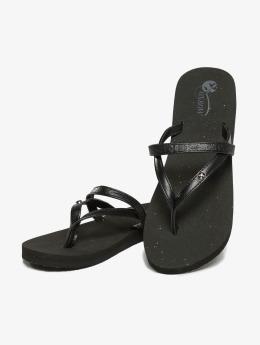 Oxbow Slipper/Sandaal Voncello Wedge EVA zwart