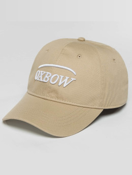 Oxbow Snapback Caps Elini Plain beige