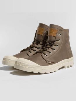 Palladium Boots Pampa Leather marrón