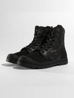 Palladium / Boots Pampa Hi Knit LP Camo in zwart