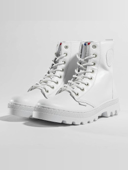 Palladium | Pallabosse Off Lea blanc Femme Chaussures montantes