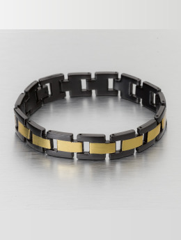 Paris Jewelry Bracelet Stainless Steel  black