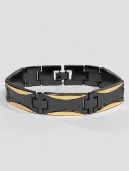 Paris Jewelry Rannekorut Stainless Steel musta