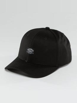 Pelle Pelle snapback cap Core Label zwart