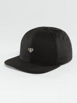 Pelle Pelle Snapback Caps Icon Plate musta