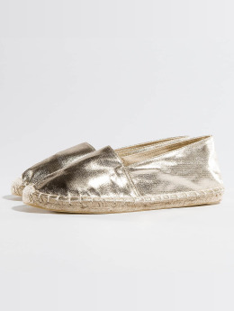Pieces Ballerinas Haisha goldfarben