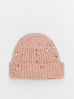 Pieces Beanie pcFelia Pearl rose