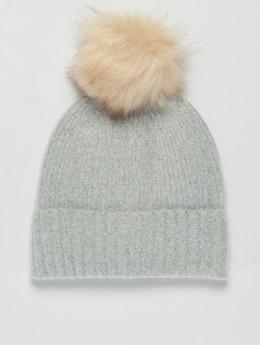 Pieces | pcDiana Hood gris Femme Bonnet hiver