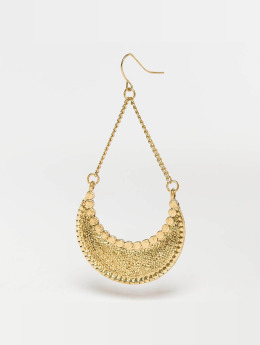 Pieces Earring pcIngrid gold colored