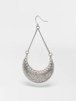 Pieces Earring pcIngrid silver colored