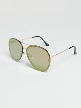 Pieces Sonnenbrille pcIsabella Beach goldfarben