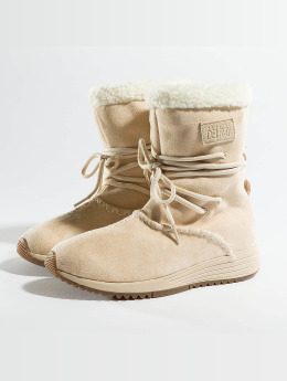 Project Delray Boots Wavy Lux High  beige