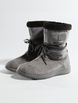 Project Delray Boots Wavy Lux High grau