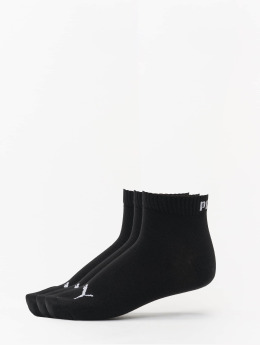 Puma Dobotex Chaussettes 3-Pack Quarters noir