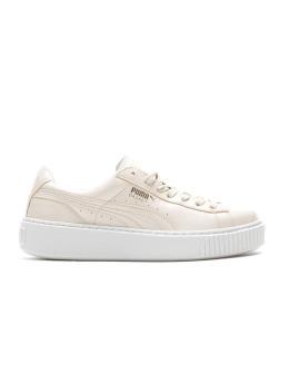 Puma Sneaker Basket Platform Patent Wn`S beige