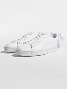 Puma Sneaker Basket Bow bianco