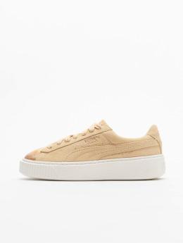 Puma Sneaker Suede Platform grau