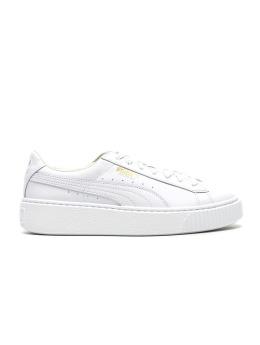 Puma Sneaker Basket Platform Core weiß