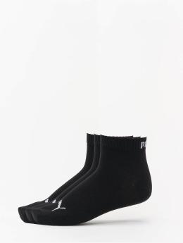 Puma Socken 3-Pack Quarters schwarz
