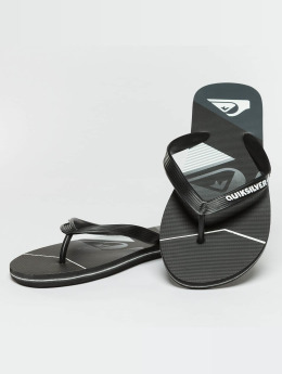Quiksilver Badesko/sandaler Molokai Slash Fade Logo svart