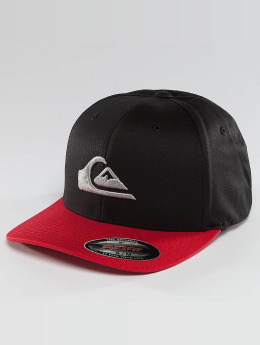 Quiksilver Fitted Cap Mountain And Wave zwart