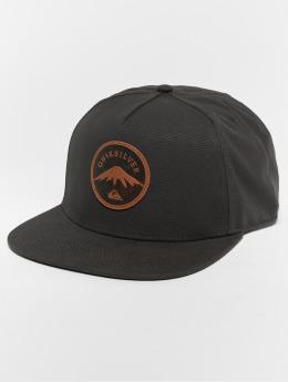 Quiksilver Gorra Snapback Mountain Stashe negro
