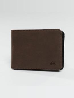 Quiksilver Portefeuille Slim Vintage brun