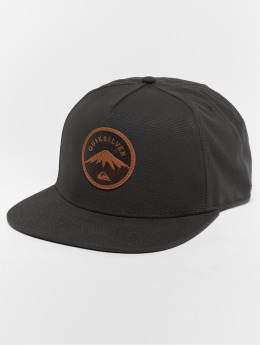 Quiksilver Snapback Cap Mountain Stashe nero