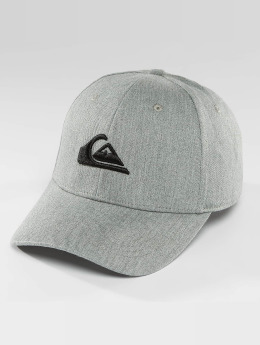 Quiksilver Decades Snapback Cap Medium Grey Heather