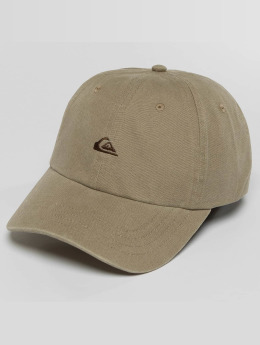 Quiksilver Snapback Caps Papa bezowy