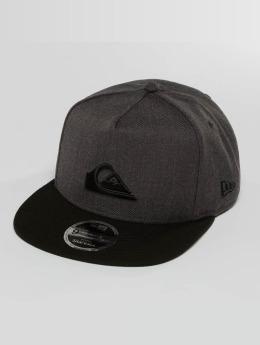 Quiksilver Snapback Caps Stuckles grå