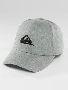 Quiksilver Decades Snapback Cap Medium Grey Heather