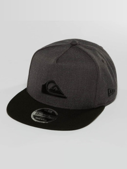 Quiksilver Snapback Caps Stuckles szary