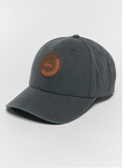 Quiksilver Snapback Caps Hues szary