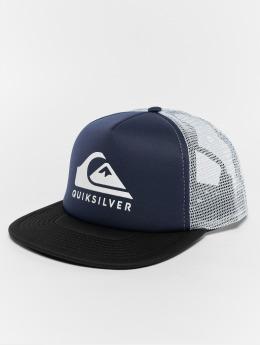 Quiksilver Trucker Cap Foamslay blau