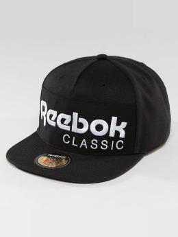 Reebok Кепка с застёжкой Foundation черный