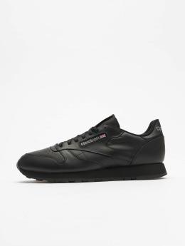 Reebok Сникеры Classic Leather черный