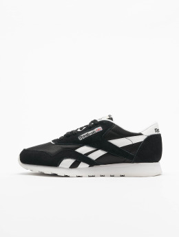 Reebok Baskets Classic Leather noir