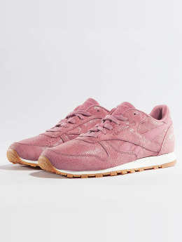 Reebok Baskets Classic Leather Clean Exotics rose