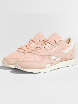 Reebok Baskets Nylon Mesh M rose